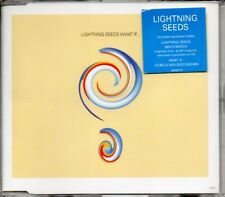 LIGHTNING SEEDS - WHAT IF... - 1996 3 TRACK CD SINGLE