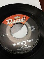 45 Record Joe Tex Men Are Getting Scarce/You're Gonna Thank Me VG Disco Soul