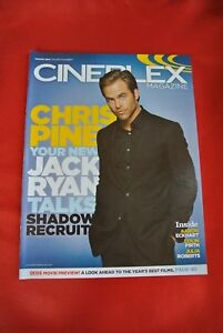 Chris Pine January 2014 Import Canada Movie Magazine NEW