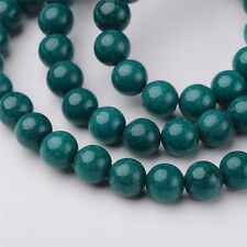 "16"" Strand Natural Mashan Jade Beads Multi-Use Round Gemstone Beads 4mm/6mm/8mm"