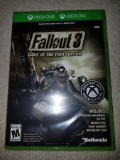 Fallout 3 Game of the Year Edition (Microsoft Xbox 360 / One, 2009) New Sealed