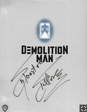 Demolition Man (1993) Sylvester Stallone's personal script signed by stallone