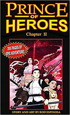Prince Of Heroes Chapter 2, Espinosa, Rod, Excellent Book