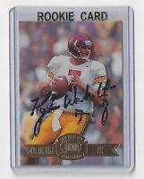 1996 PACKERS Kyle Wachholtz signed ROOKIE card Press Pass #48 RC Autograph USC