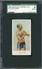 1910 E75 American Caramel  Joe Gans HOF   SGC !!