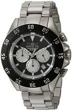Invicta 22396 Speedway Men's 48mm Chronograph Stainless Steel Black Dial Watch