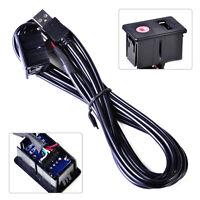 3.5mm AUX USB Verlängerung Kabel Einbau Buchse Verlängerung Anschluss Adapter er