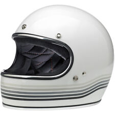 Biltwell Closeout Gringo Full Face DOT Helmet - Gloss White Spectrum