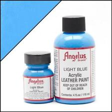 Angelus Acrylic Leather Paint Light Blue 4oz Colour f Shoes/Sneakers/Jacket/Sofa