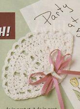 Crochet Pattern ~ Fan Magnet ~ Instructions