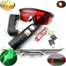 GX6-M 532nm Adjustable Focus Green Laser Pointer Burn Matches Light Cigarettes