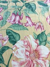 Curtain Sample Rem Vintage Fabric Blind Cushion Craft 126x85cm