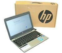 "HP 11-V010NR 11.6"" Chromebook Intel Celeron N3060 1.60GHz 4GB 16GB ChromeOS"