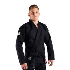 Manto Base BJJ Gi Black Grey V1 Brazilian Jiu Jitsu Uniform Kimono Free Belt