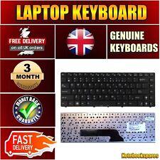 Compatible Keyboard for Asus K40ID K40IE K41IN N82 UL30 A42 K40 Laptop Black