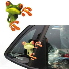 3D Cute Animal Frog Print Car 3D Sticker Badge Art - Car Accessories - New