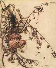 A4 Foto los cuentos de hadas de los hermanos Grimm 1909 6 impreso Poster