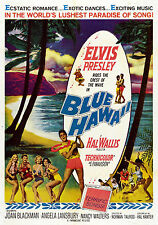BLUE HAWAII MANIFESTO ELVIS PRESLEY HAL WALLIS JOAN BLACKMAN ANGELA LANSBURY