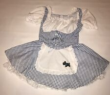 Wizard of Oz Dorothy California Costume Halloween Dress Womens Size Small