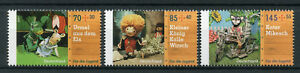 Germany 2017 MNH For Youth Marionettes Puppets Kater Mikesch 3v Set Stamps