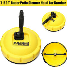 Plastic Racer Patio Cleaner Head Pressure Washer Attachment for Karcher T150 T