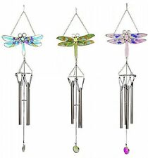 Glass Contemporary Windchimes