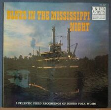 Blues in the Mississippi Night Rare Alan Lomax Recordings Song & Story UA 4027