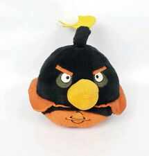 """Angry Birds Space Black Bomb Plush Stuffed Toy Doll 7"""""""