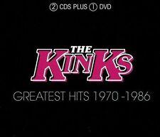 KINKS - Greatest Hits 1970-86 (2cd/) - 3 CD - RARE