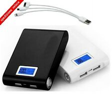 100000mah LCD POWER BANK carica BATTERIA ESTERNA UNIVERSALE SMARTPHONE portatile