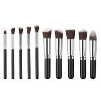 10pcs Makeup Brush Set Powder Foundation Face Eyeshadow Lip Kabuki Brushes Kits