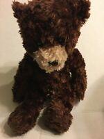 "Chelsea Teddy Bear Co Brown Bear 13"" Plush Stuffed Animal"