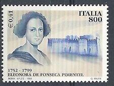 1999 ITALIA ELEONORA DE FONSECA MNH **