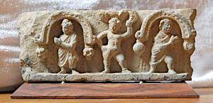 Greco-Kushan 3rd Century Frieze ——> EXQUISITE DETAIL & CRAFTSMANSHIP