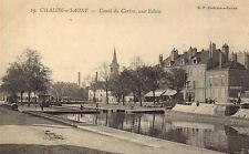 CHALON sur SAÔNE Canal du Centre Une écluse