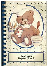 *NORTH VERNON IN 1993 TEA CREEK BAPTIST CHURCH COOK BOOK *INDIANA COMMUNITY RARE