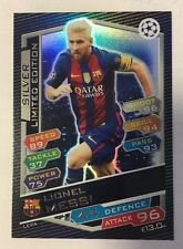 2016 2017 MATCH ATTAX ATTACK CHAMPIONS LEAGUE LIMITED EDITION SILVER MESSI