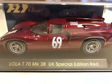 Fly 1/32  Lola T70 Mk3B UK Special Edition - S31 - Slot Car New old Stock