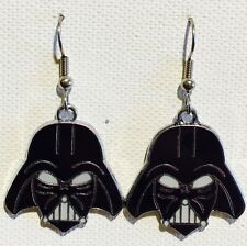Darth Vader Star Wars Earrings Surgical Hooks New Dark Side Force Rogue