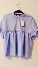 Zara Collared Tops & Shirts Size Plus for Women