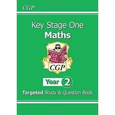 KS1 Maths Targeted Study & Question Book Year 2 New Curriculum 6-7 Yrs