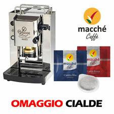 MACCHINA CAFFE' CIALDE 44MM MACCHE SLOT PRO SERIES FABER MATERIALE E COLORE INOX