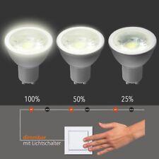 GU10 Ampoule LED 5W intensité variable par interrupteur / 400 LUMEN, 3000K