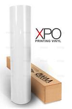 "Polymeric 3MIL printing vinyl 100ft x 54"" self adhesive VVIVID XPO bubble free"
