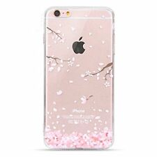 Visibee-Cherry Blossom Ultra Dünn Soft Gel TPU Silikon Case für iPhone 6 6s