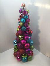 Christmas Tree Tabletop Center Piece.Multi Color .19�H