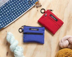 ChiaoGoo Needles Shorties Set (5cm & 8cm), red/blue lace