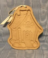 Vintage  Brown Bag Cookie Art  German Chalet Cookie Mold  1989        USA