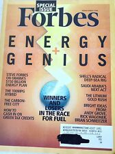 Forbes Magazine Energy And Genius Race For Fuel November 24, 2008 081317nonrh