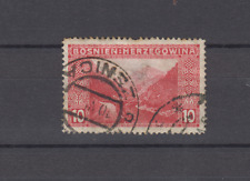BOSNIA HERZEGOVINA 1906 10H DEFINITIVE ZSENICA ZENICA POSTMARK